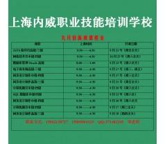 上海市程序设计员JAVA中级,程序设计员JAVA高级培训