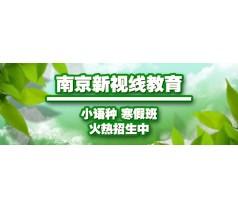 南京新视线印尼语学习班,VIP一对一小班名师授课