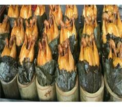 竹筒荷叶技术培训学校竹筒荷叶鸡做法培训班