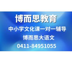 大连甘井子区专职老师辅导初高中语文推荐博而思学校